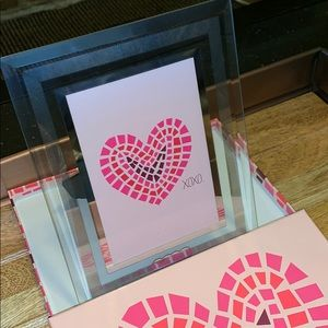 XOXO Heart Picture Frame